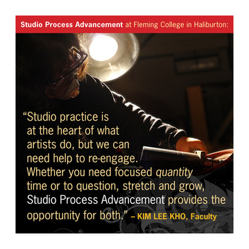 Studio practice is at the heart of what artists do (image)